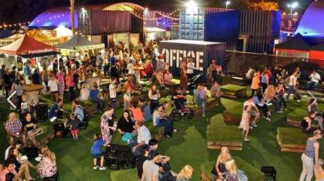 The One Table food markets have taken inspiration from the Eat St markets in Brisbane.