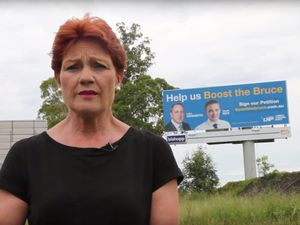 You can't petition yourself: Hanson hits Bruce campaign
