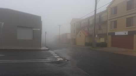 Toowoomba fog.