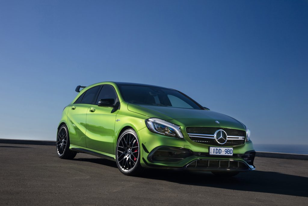 2016 Mercedes-AMG A 45. PHOTO: MARK BRAMLEY