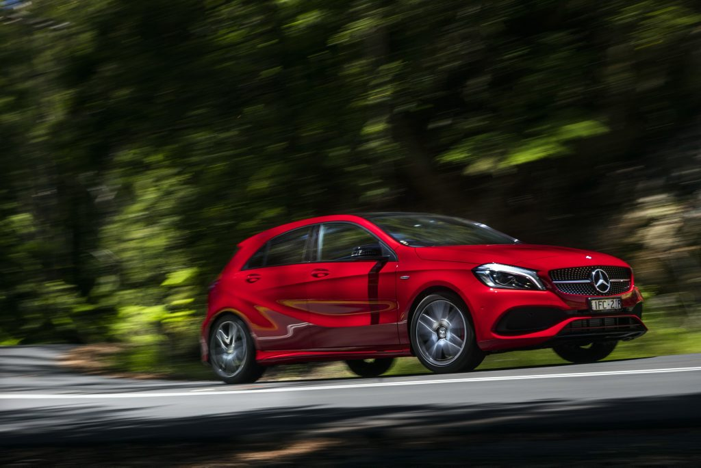 2016 Mercedes-Benz A 250. PHOTO: MARK BRAMLEY