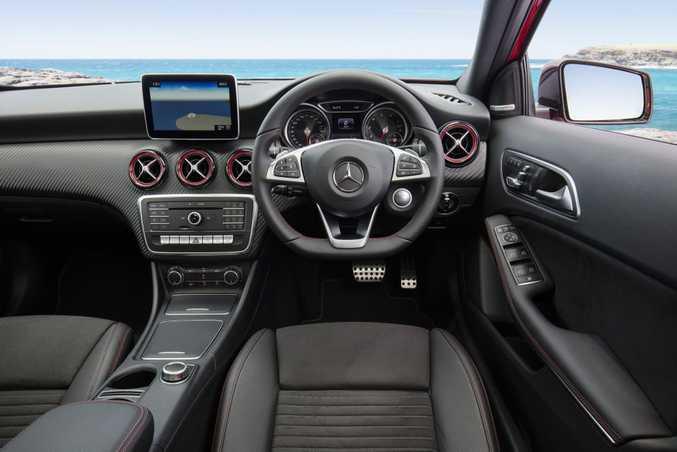 2016 Mercedes-Benz A 250. PHOTO: MARK BRAMLEY