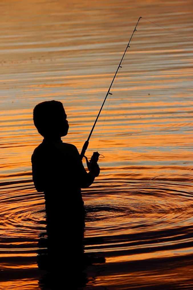 Addicted to Fishing by Belinda Reynolds.