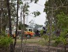 BLAZE: A Booral home was completely gutted by fire in the early hours of Australia Day morning.