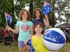 Brydie, Kristy and Brianna enjoying Australia Day Activities at Killarney.
