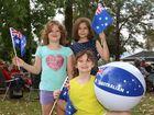 Brydie, Kristy and Brianna enjoying Australia Day Activities at Killarney.