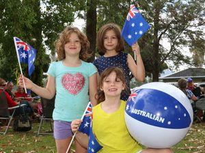 Killarney joins in Aussie Day fun