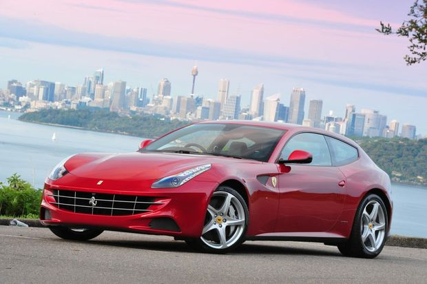 Ferrari FF means four-seat fun for the family.