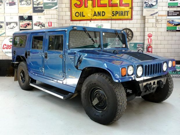 Hummer H1. Photo: Contributed