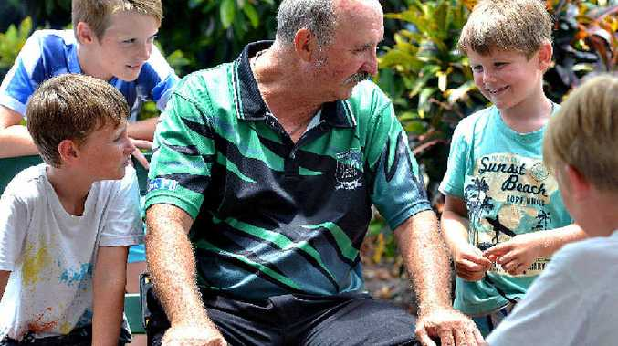 WELL DONE: Bundaberg East State School principal Doug Ambrose is passionate about the adage that it takes a village to raise a child.