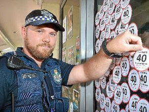 Gympie police target school zones