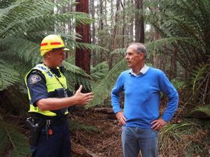 Bob Brown arrested over logging protest