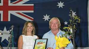 Kyogle Council Citizen of the Year Larry Condon