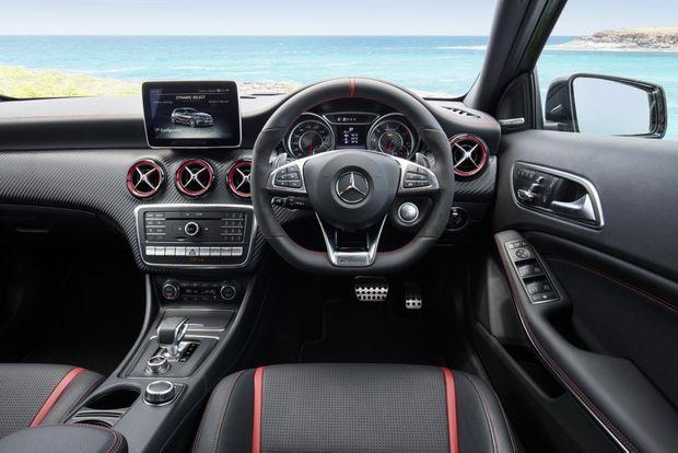 2016 Mercedes-AMG A 45. PHOTO: MARK BRAMLEY
