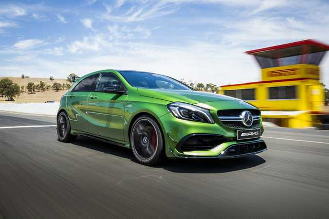 Mercedes-AMG A45. Photo: Contributed