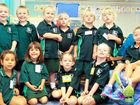 Busy day for six families starting at Clinton State School
