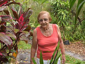 Thieves raid widow's lush garden