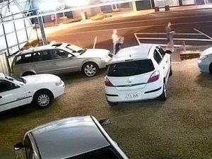Casino police investigate malicious damage