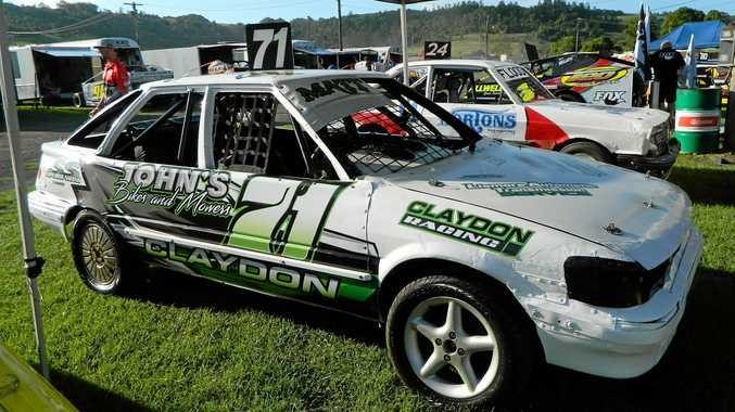 The car Lismore driver Matt Claydon will race in the NSW 4 Cylinder Title event this weekend.