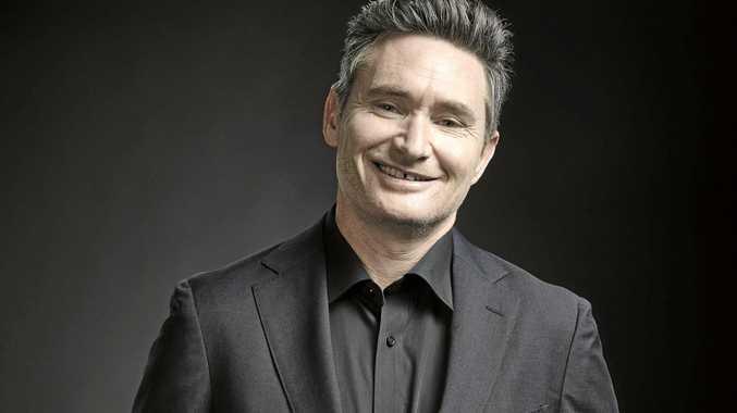 FUNNY MAN: Australian comedian Dave Hughes.