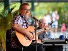John Williamson launched his new song 'Aussie Girls' during his performance at Australia Zoo.
