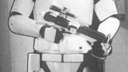 A stormtrooper cutout was stolen from a Bowen cinema.