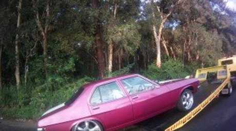 A Sunshine Coast man was charged with driving without due care and attention and his car was impounded for 90 days after he allegedly did a 67m burn out on Steve Irwin Way at Landsborough.