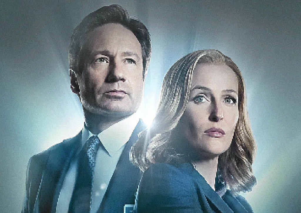 David Duchovny and Gillian Anderson star in The X-Files.