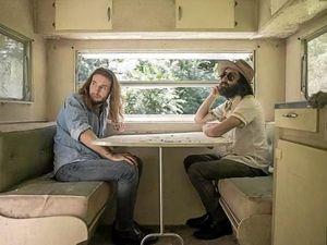 Folk duo hits the coast