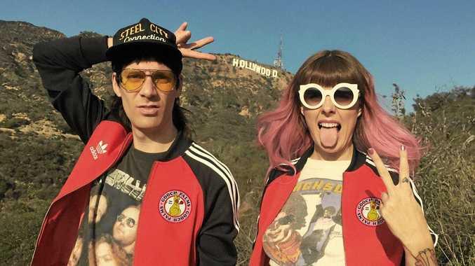 Newcastle punk sweethearts The Gooch Palms.