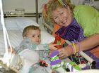 Happy clowns brighten up sick kids stay