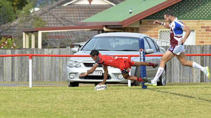 TRY TIME: Josh Duncan will play for Toowoomba Warriors this weekend.