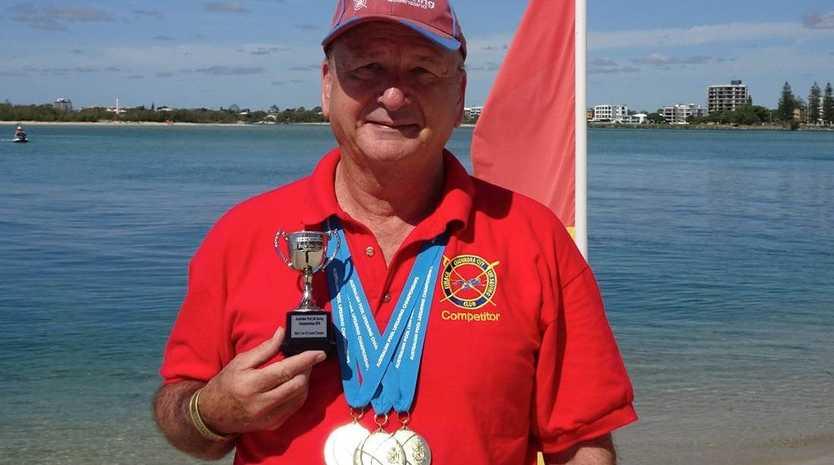 Paul Seto Australian Pool Lifesaving 'old boy' winner