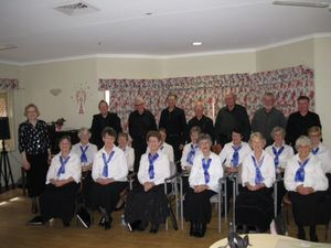 Happiness is singing in a local community choir