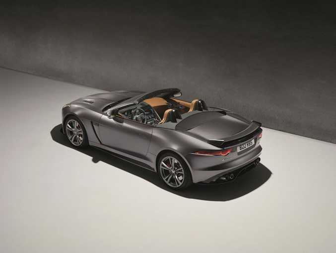 RAPID AND ROOFLESS: Jaguar F-Type SVR Convertible.