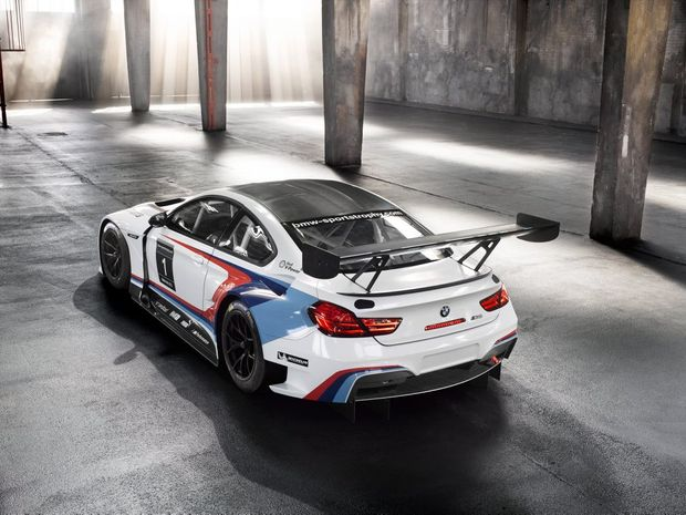 BRUTAL BEAMER: Richards will run and pilot the factory-backed BMW M6 GT3 in the Australian Touring Car Championship this year