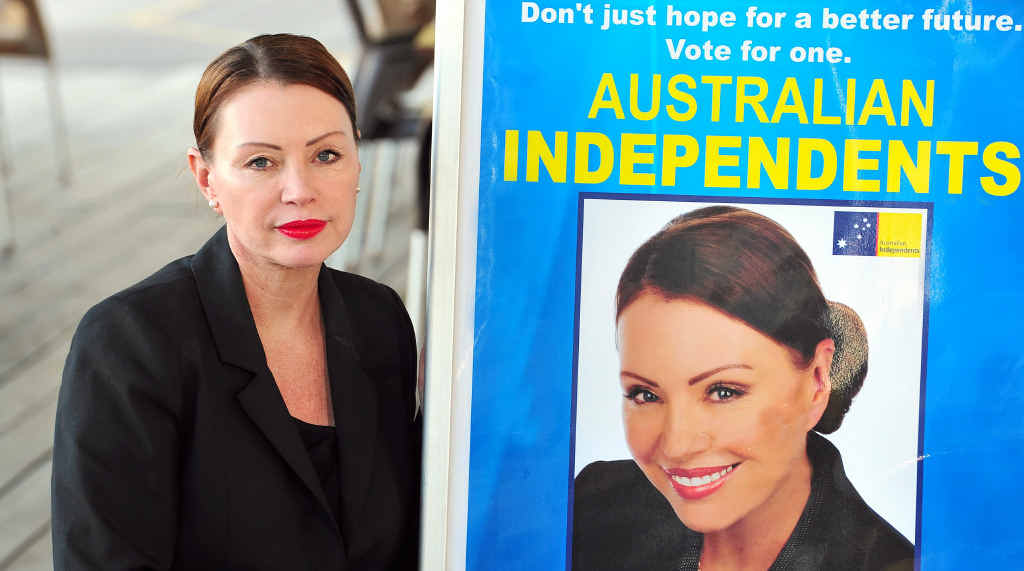 BIG WIN: Aspiring politician Patricia Petersen has won a legal battle over council's decision to take her to court over the placement of signs during the 2013 election campaign.