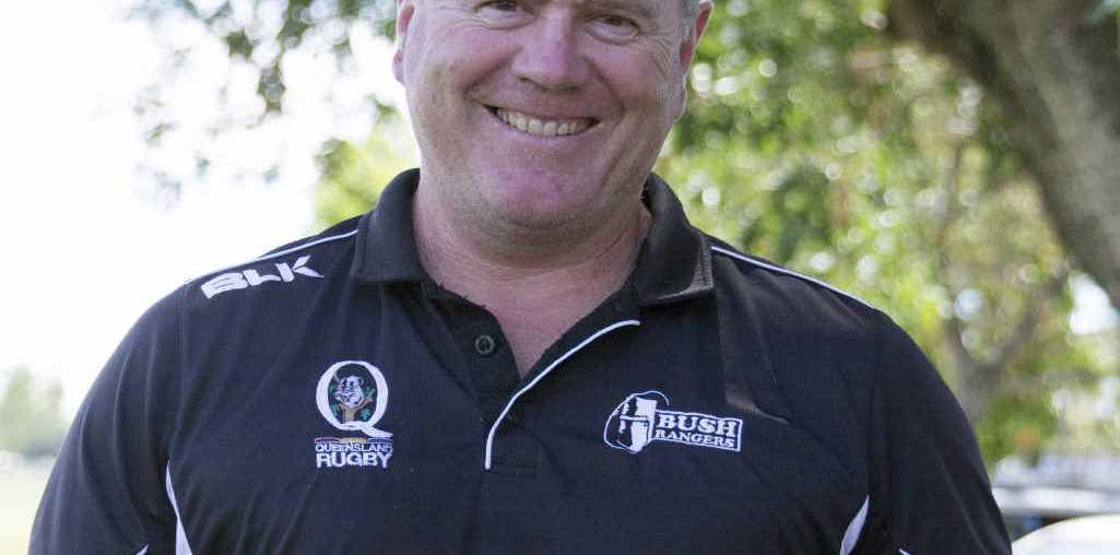 PROUD COACH: Jim Fabish won Senior Sportsman of the Year on Australia Day for his coaching efforts.