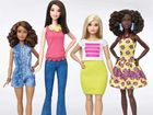 Barbie is no longer just tall, blonde and skinny