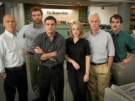 Spotlight took out the Best Original Screenplay category.