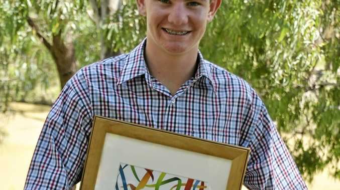 YOUNG STAR: Ben Hancock has been named Surat's Young Citizen of the Year.