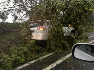 Large storm creates havoc on our roads
