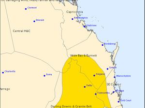BOM releases official severe thunderstorm warning for region