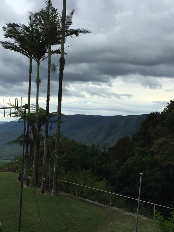 The view from Eungella Chalet.