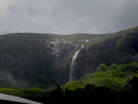 A Mt Coolum waterfall. Photo: Kristy Johnston