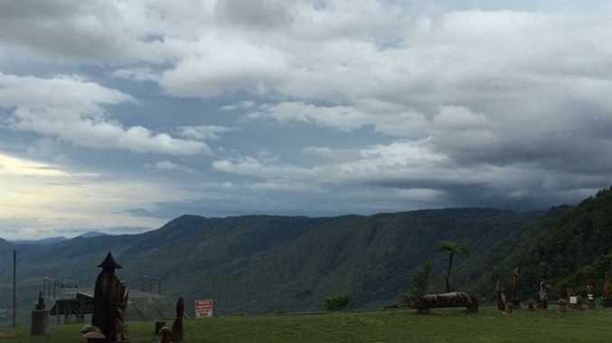 The view from Eungella. Photo Eungella Chalet