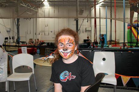 Ella Fox, 12, of Newrybar, changes her image.