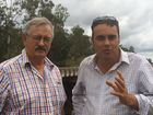 Member for Whitsunday and Shadow Assistant Minister to the Opposition Leader for North Queensland, Jason Costigan, and Cr Geoff Bethel, Division 8 rep on the Isaac Regional Council.