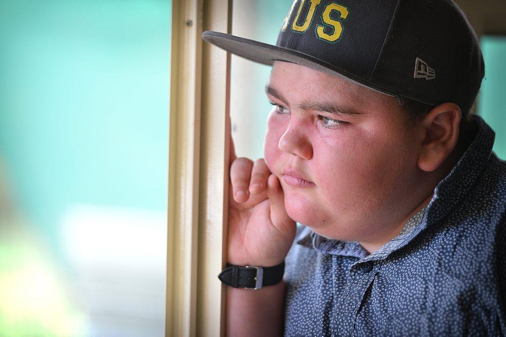 JAXON McGourty suffers from Juvenile Dermatomyositis.