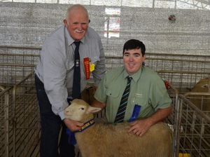 A poor season, but lambs still in prime at show